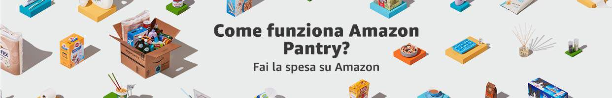 come funziona amazon pantry